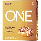 ISS Oh Yeah ONE PrePost Workout Bars - Cinnamon Roll 12 Bars