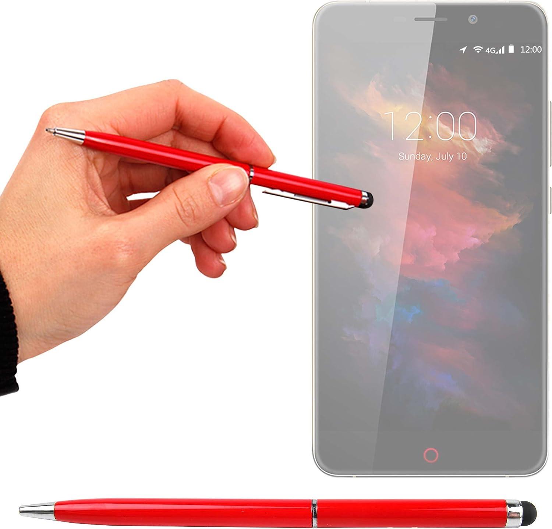 DURAGADGET Lápiz Stylus + Bolígrafo (2 En 1) para Smartphone UMI MAX | Touch | Super | Motorola Moto X Play | ZTE Axon Mini | Blackberry Priv: Amazon.es: Electrónica