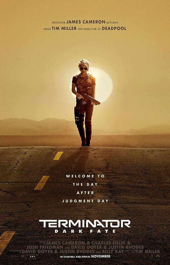 Lionbeen Terminator Dark Fate Movie Poster Cartel de la ...