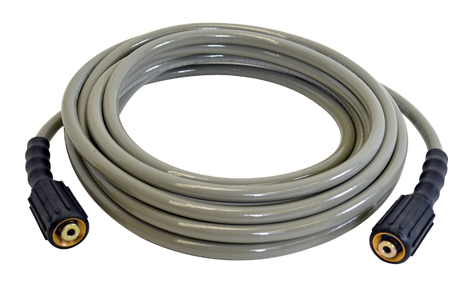 "SIMPSON Cleaning MorFlex 40224- 1/4""x 25' 3200 PSI Cold Water Replacement/ Extension Hose"