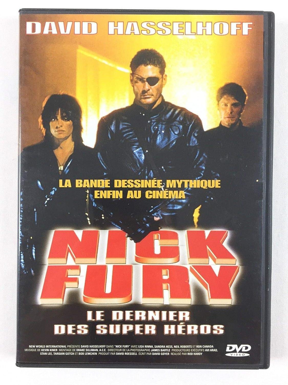 Nick Fury [Francia] [DVD]: Amazon.es: David Hasselhoff, Lisa ...