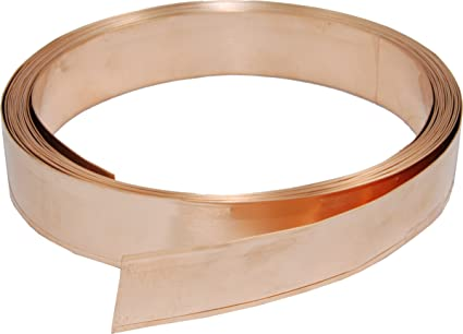 Copper draught proofing strip