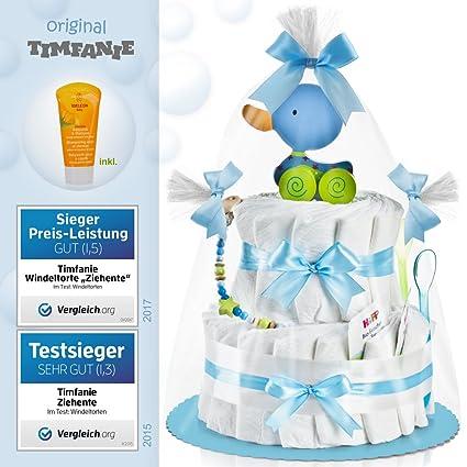 timfanie® pañales para tartas, ziehente (de 2 pisos/Baby de azul)