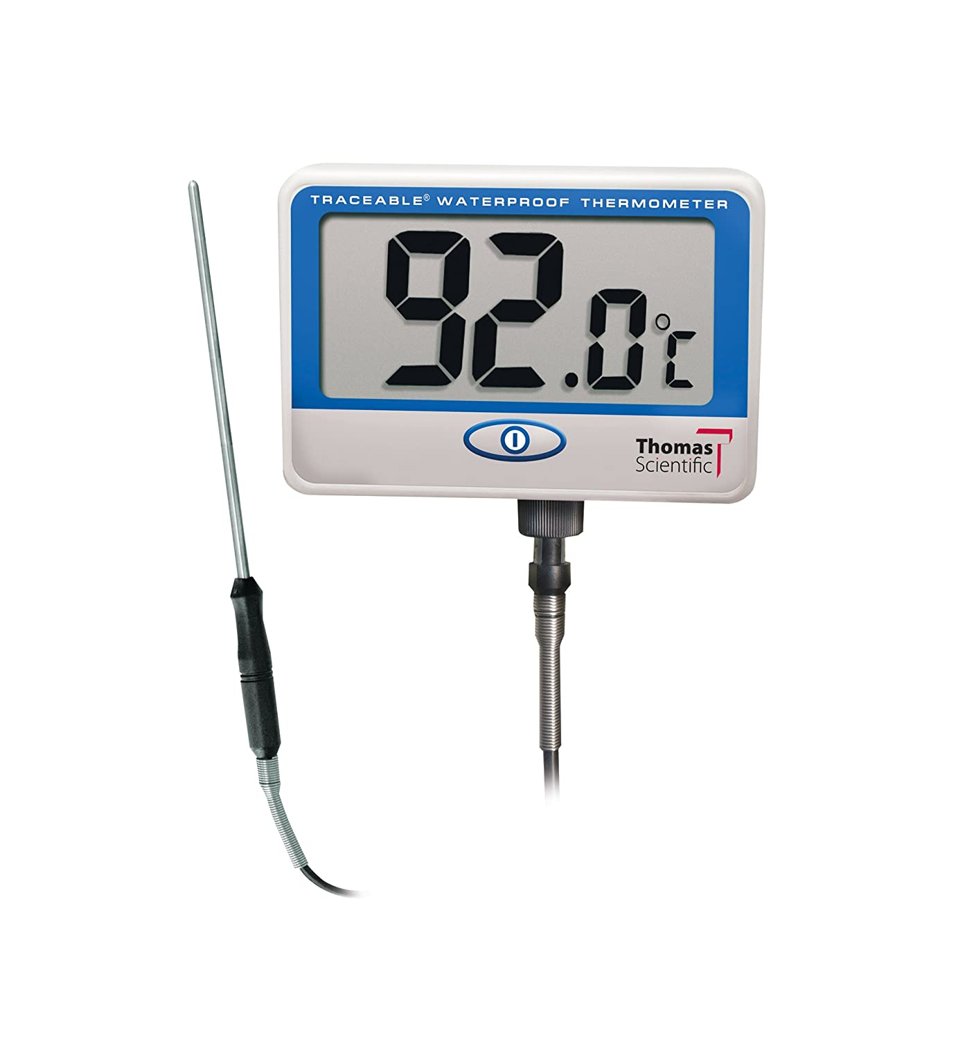 Image of Control Traceable 6406 Extra-Extra Long-Probe Waterproof Thermometer, -10°C to 110°C (14°F to 230°F) Range Digital Thermometers