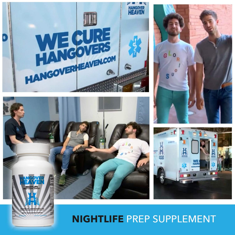 b2f4d607 Amazon.com: Hangover Heaven Nightlife Prep Supplement, Prevent Hangover  Symptoms, 42 Count Bottle: Health & Personal Care