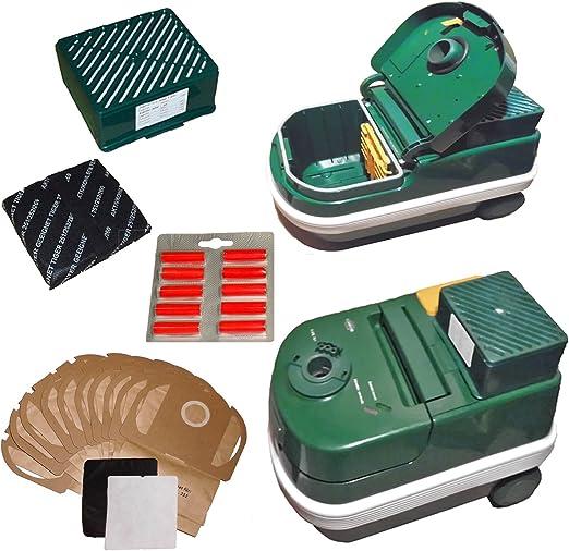 Vorwerk Tiger 252 verde dispositivo de aspiradora con filtro HEPA ...