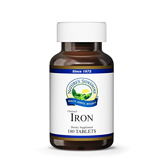 Amazon.com : Iron-Chelated /25MG (180) : Iron Mineral Supplements : Beauty