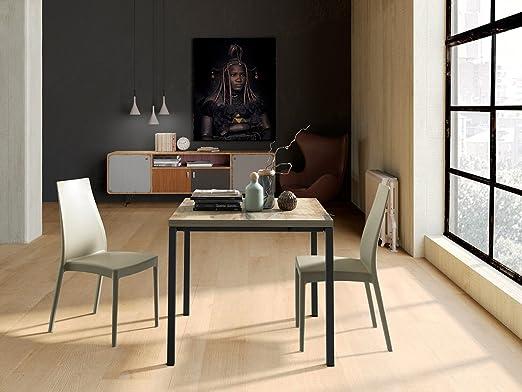 altacom comedor Bari | mesa | Cocina Mesa | imitación de arce, 90 ...