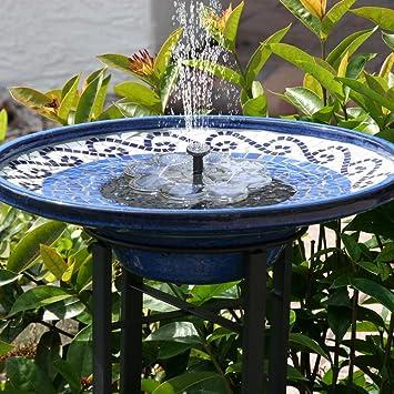Nouveau Fontaine Solaire 1 6w Fontaine Exterieur De Jardin Tekhome Fontaine A Eau Deco Jardin Mini Pompe A Eau Pompe Etang Fontaine Pour