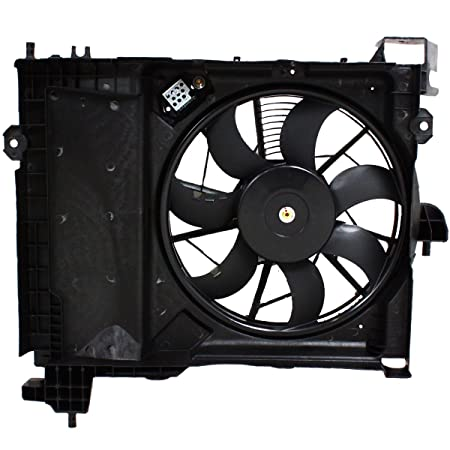 Amazon Com Sunbelt Ac Condenser Fan Assembly For Dodge Chrysler