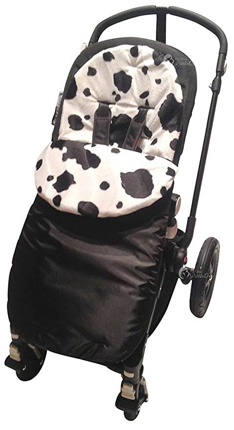Animal Print saco/Cosy Toes Compatible con Bugaboo Bee Plus vaca ...