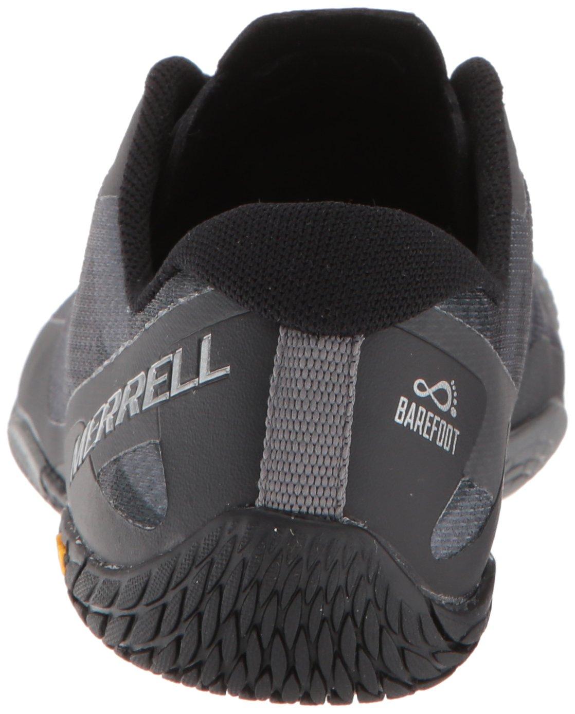 Merrell Women's Vapor Glove 3 Trail Runner B072JXGPW1 6 B(M) US|Black/Silver