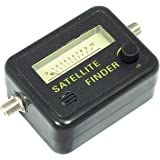 Metronic 450003 Pointeur / Mesureur de signal satellite à aiguille - Satellite Finder