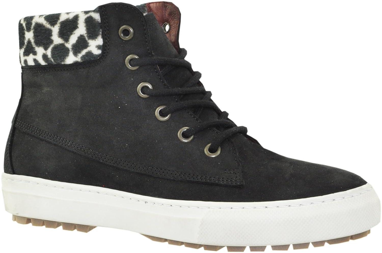 JJ Footwear - Botas de Piel para mujer41 EU|Schwarz Wax Nubuck