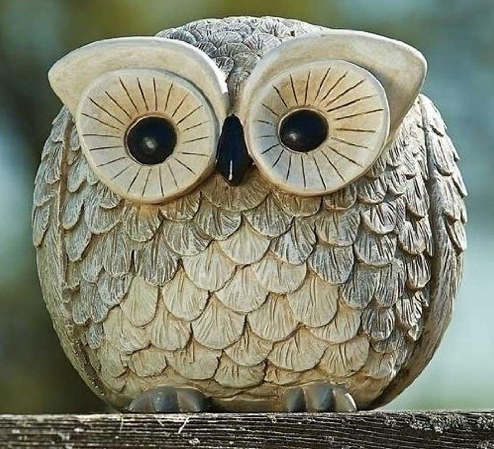 Stone Owl Garden Ornaments Amazon roman pudgy pal garden figure 75260 owl 675 inches amazon roman pudgy pal garden figure 75260 owl 675 inches tall outdoor statues garden outdoor workwithnaturefo