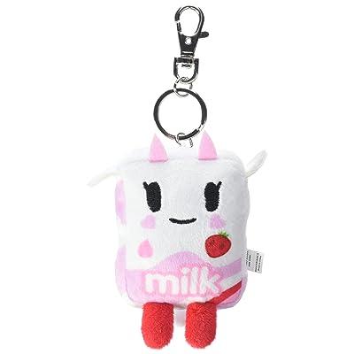 Tokidoki Plush Keychain, Strawberry Milk: Toys & Games