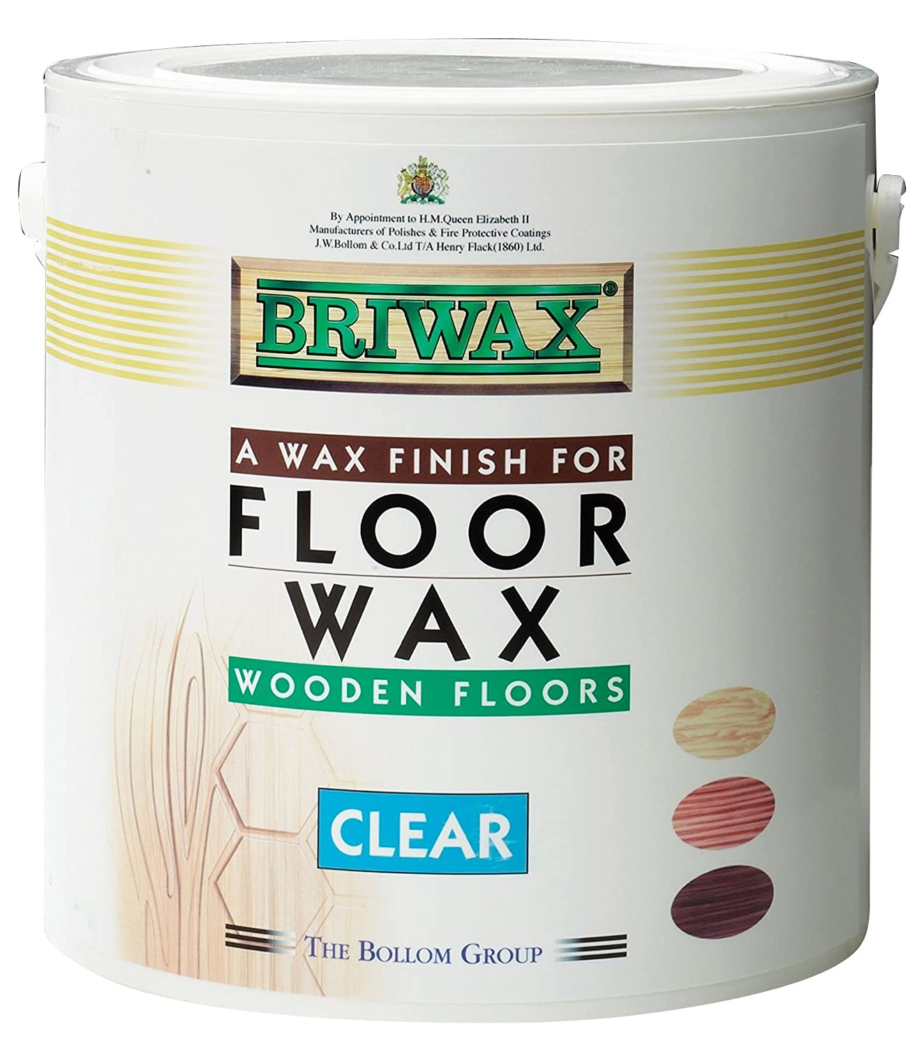 Briwax Floor Wax - Clear - 2.5 litre