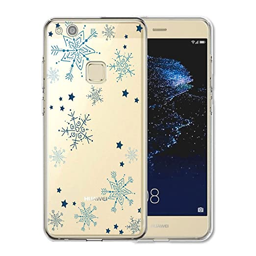 14 opinioni per Huawei P10 Lite Cover , YIGA Moda blu