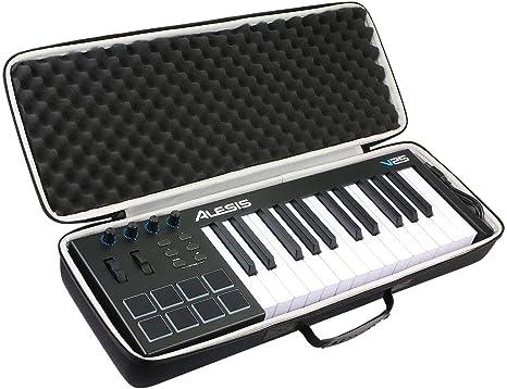 khanka Duro Viaje Estuche Bolso Funda para Alesis V25 Teclado controlador USB-MIDI(caja solo): Amazon.es: Instrumentos musicales