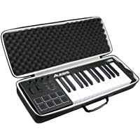 Khanka Hard Travel Case voor Alesis V25 25-Key USB MIDI Keyboard Controller. (alleen in het geval)
