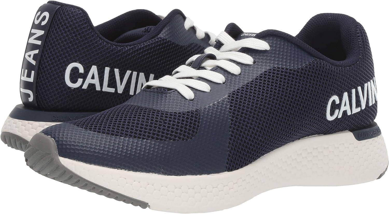 Calvin Klein Jeans Amos Hombre Zapatillas Azul: Amazon.es: Zapatos y complementos