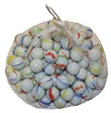 Net of 50 Glass Marbles [Toy]