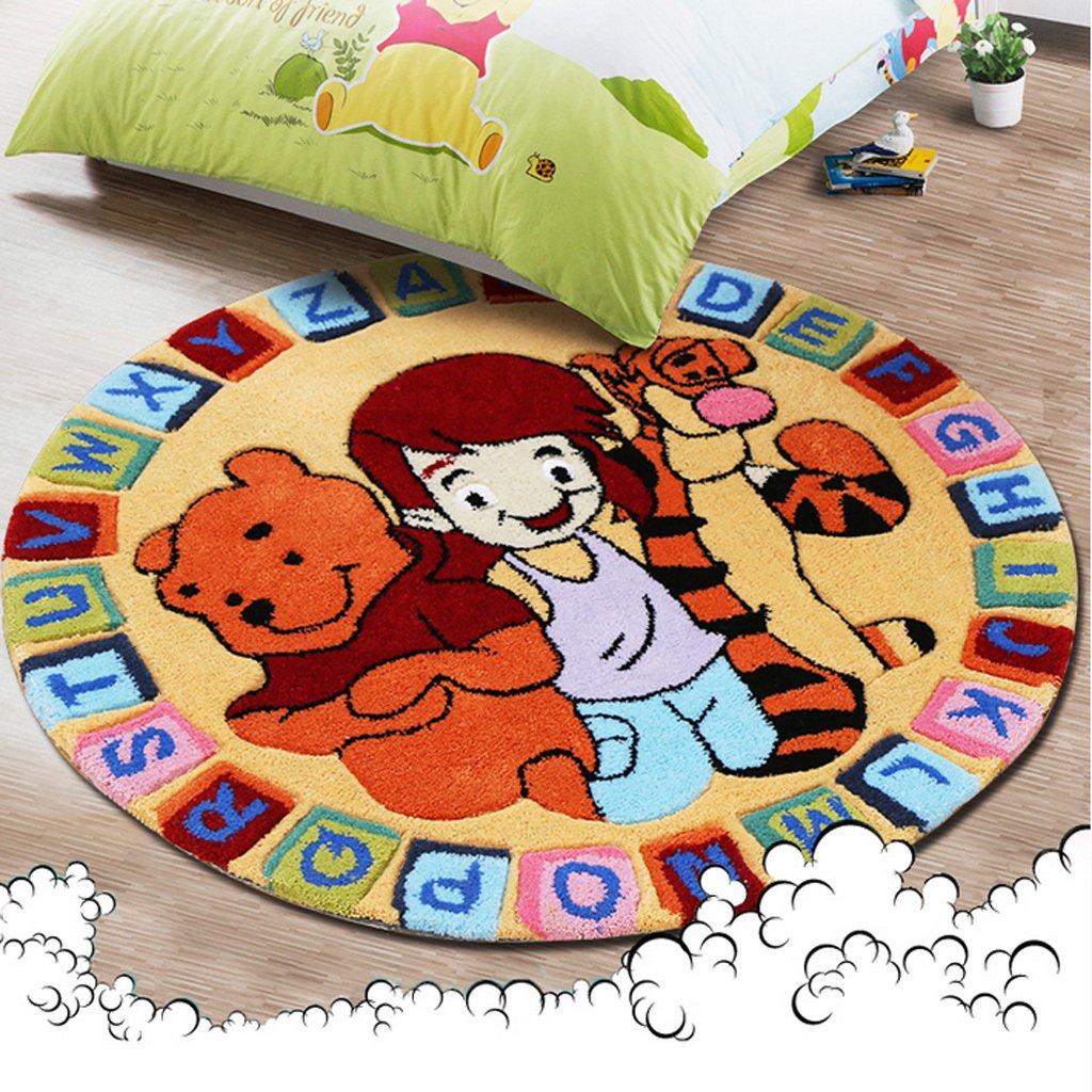 Im europäischen Stil Wohnzimmer Couchtisch Sofa Teppich Cartoon Kinderzimmer Nacht Decke Handarbeit rund Korb Tatami
