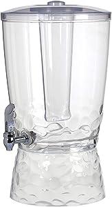 CreativeWare, Clear 3 Ga. Beverage Dispenser, 1
