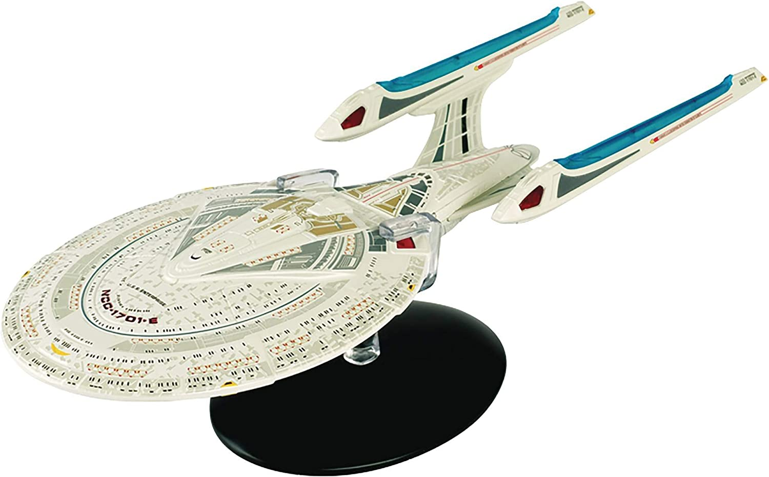 Eaglemoss Publications Star Trek Starships Spec. Enterprise NCC-1701-E Veh. & Mag