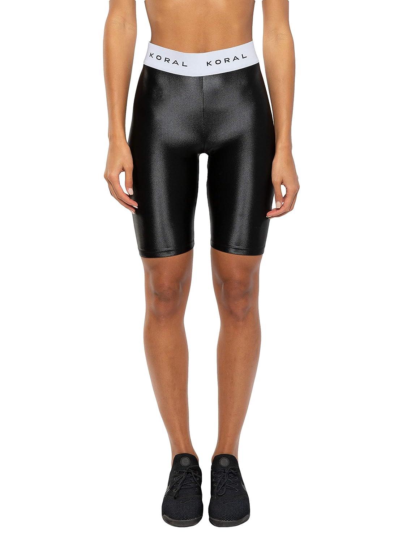 Koral Womens Streamline High Rise Infinity Biker Shorts