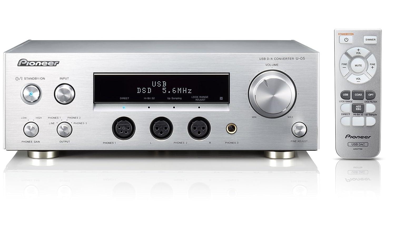Pioneer u-05-s 32bit @ 384khz Plata Amplificador para Auriculares: Amazon.es: Electrónica
