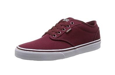 vans shoes maroon