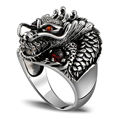 Aooaz Jewelry Elephant Silver Material Mens Ring