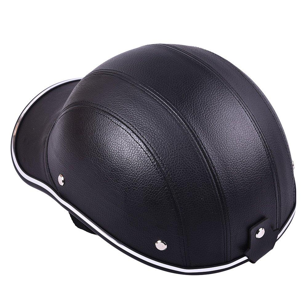 Motorcycle Half Helmet Visor for Men Women Riding with adjustable Strap
