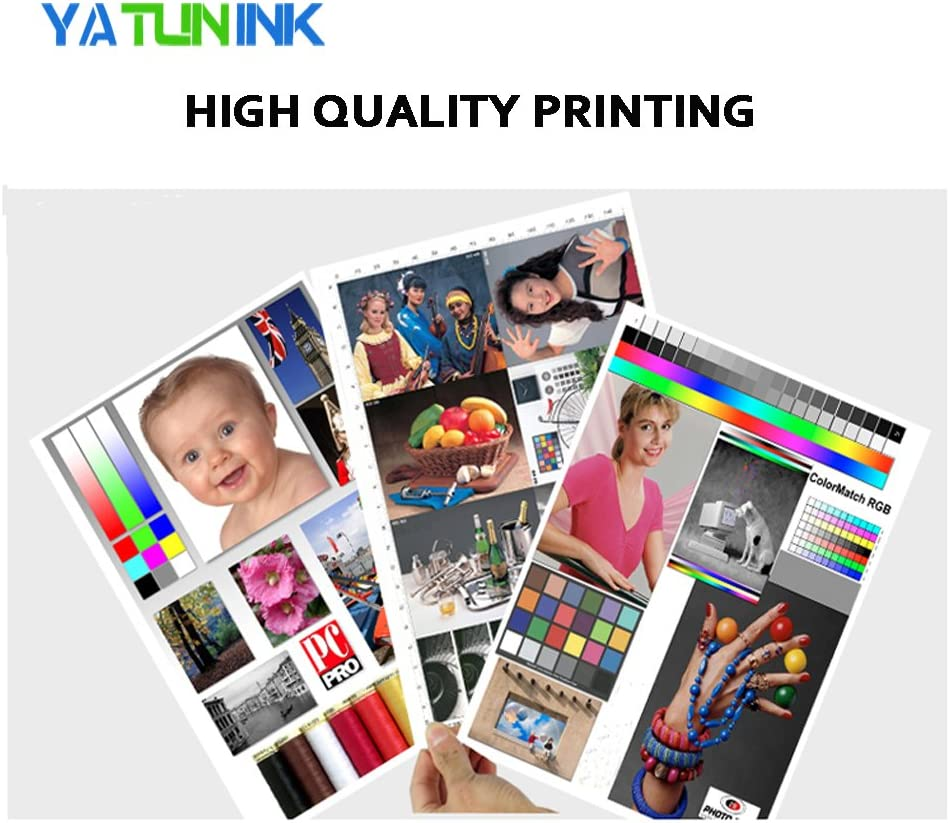 YATUNINK Remanufactured Ink Cartridge Replacement for HP 962XL Ink Cartridge 3JA03AN 3JA00AN 3JA01AN 3JA02AN for HP Officejet 9012 OfficeJet Pro 9010 9015 9018 9020 9025 Printer 4 Pack