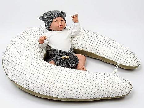 XXL Baby Cojín, almohada para dormir de lado, 210 cm ...