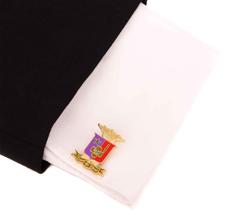 Desert Cactus Sigma Phi Epsilon Fraternity Crest Cufflinks Greek Formal Wear Blazer Jacket sig ep by Desert Cactus (Image #3)