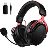 Mpow Air Wireless Gaming Headset - PS4 Headset with Double Chamber Drivers, Noise Cancelling Microphone, Memory Foam…