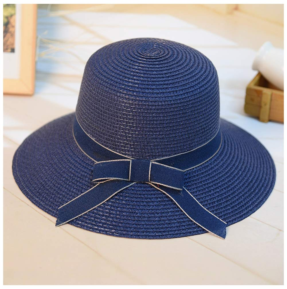 5 Ladies Summer Sun Hats Women Floppy Panama Straw Beach Hats UPF 50 Packable & Adjustable