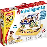 QUERCETTI-Quercetti-0944 FantaColor Evolution Boy Grande-Juego Creativo de mosaicos para niños (0944)