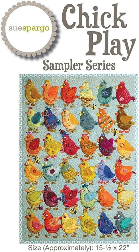 Sue Spargo SS947 - Patrones de lana para máquina de coser (39,4 x ...