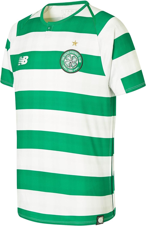 New Balance Kids' Celtic Football Short Sleeve Jersey