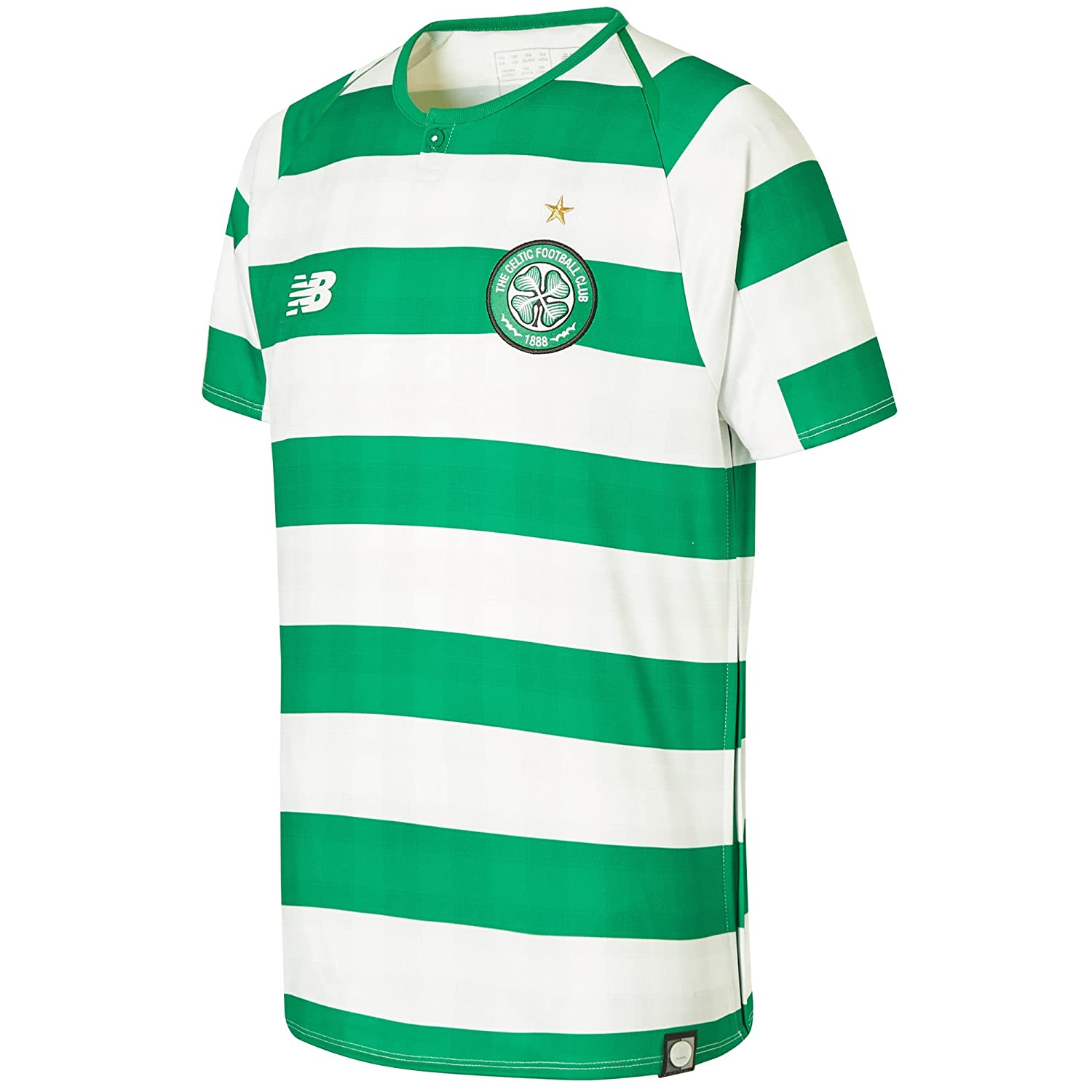 New Balance 2018-2019 Celtic Home Football Soccer T-Shirt Trikot (Kids)