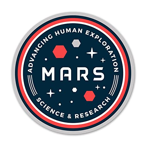 Amazon.com: Ninja Pickle Mars Space Badge Science and ...