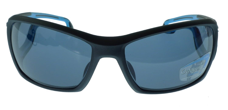 Julbo Pipeline Gafas de Sol - Matt Negro/Azul - Pulpo polarizadas Lentes fotocromáticas Oleophobic: Amazon.es: Deportes y aire libre
