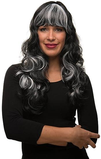 Balinco Sexy Hexe Oder Vampir Langhaar Damen Perucke Gewellt