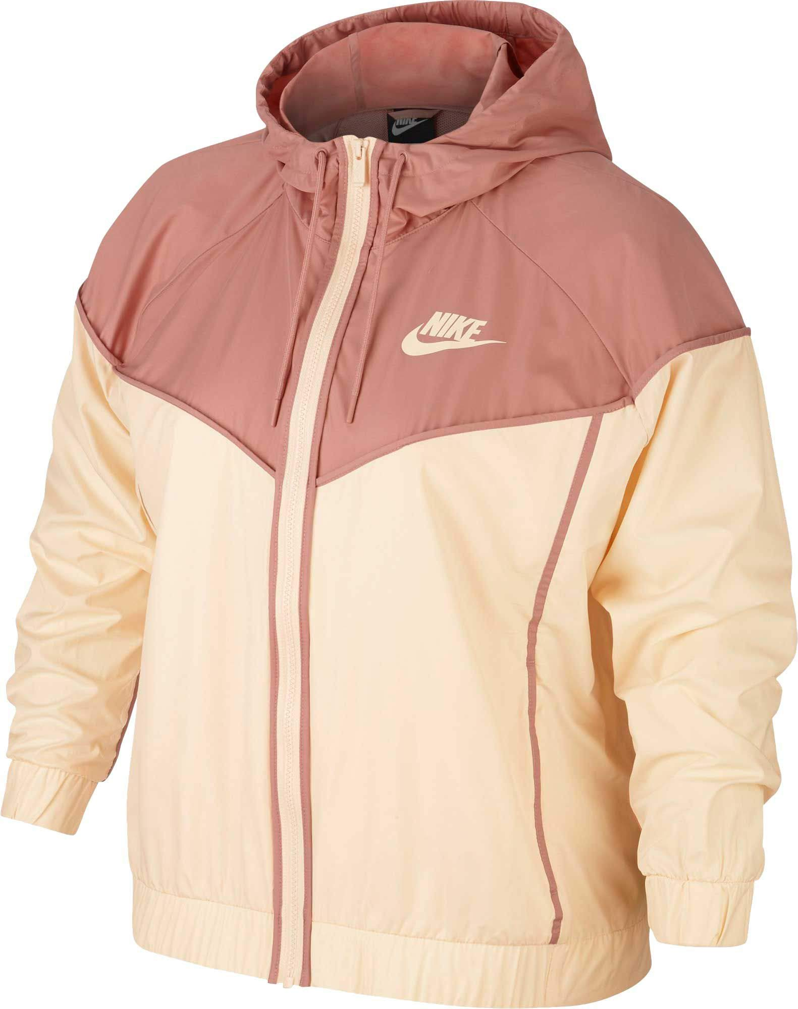 Nike Women's Plus Size Sportswear Windrunner Jacket (Guava Ice/Rust Pink, 2X) by Nike (Image #1)