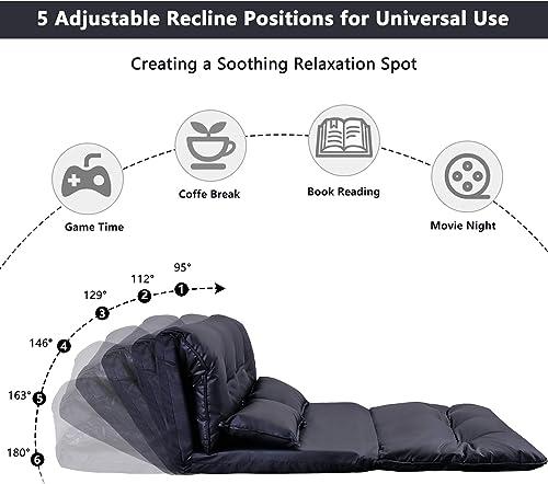 Floor Sofa Adjustable Lazy Sofa Bed