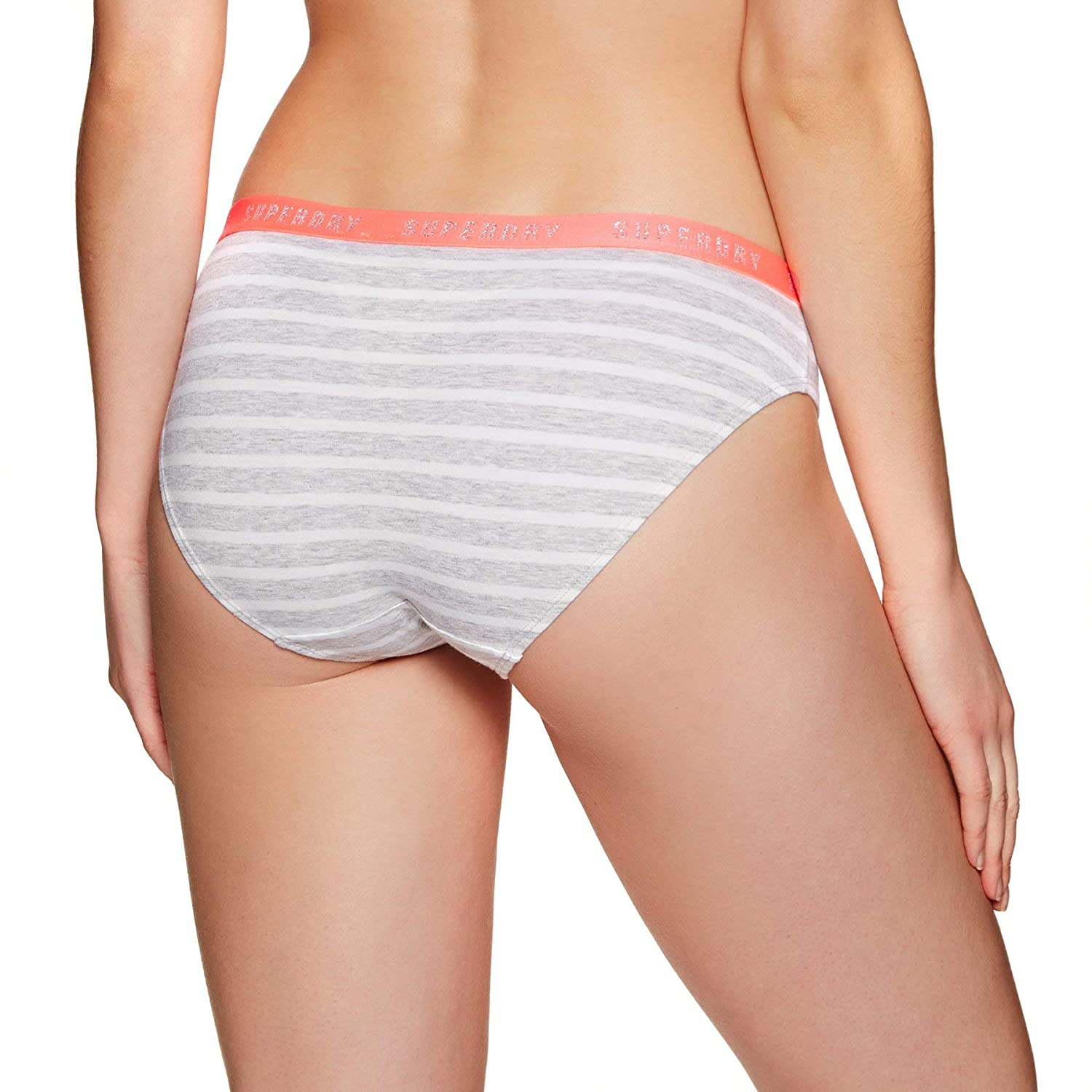 Superdry College Brief Double Pack Braguita para Mujer