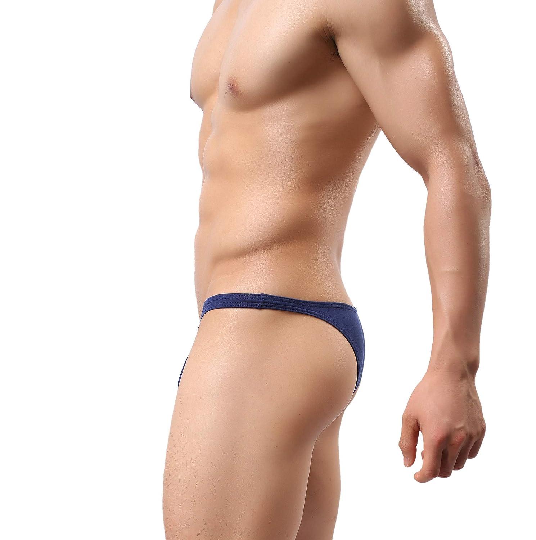 ed341c04d Men  s Thong Underwear Men  s Bikini Undie Mens Bikini Undie No Visilbe  Lines MuscleMate Hot ...